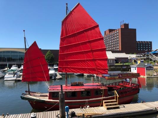 PEI Junk Boat