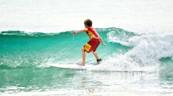 Gibbs surfing wave back