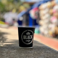 guatape black cafe coffee cup