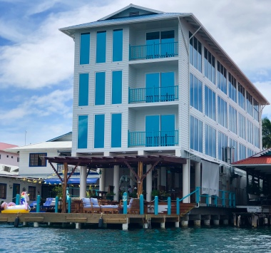 Azul Hotel from Water