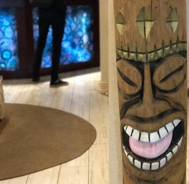 Bocas hotel artwork