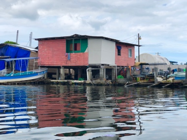 Shack Building from water 8