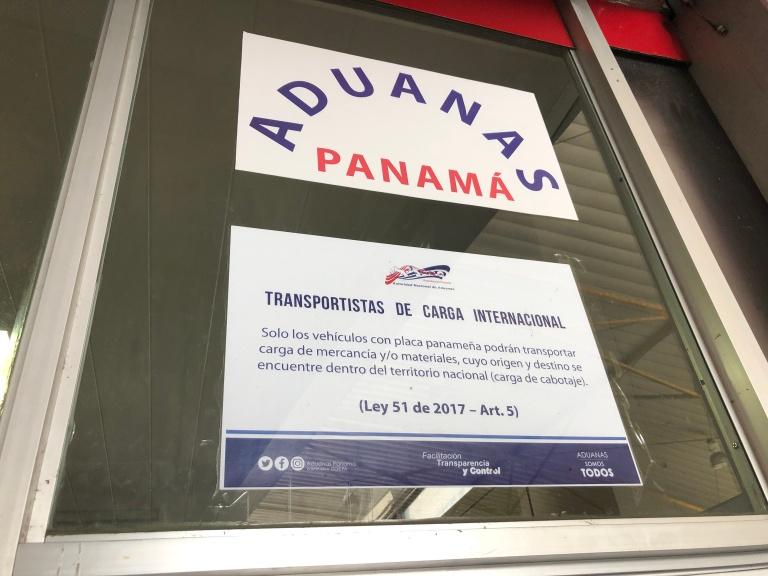 Aduanas panama 2