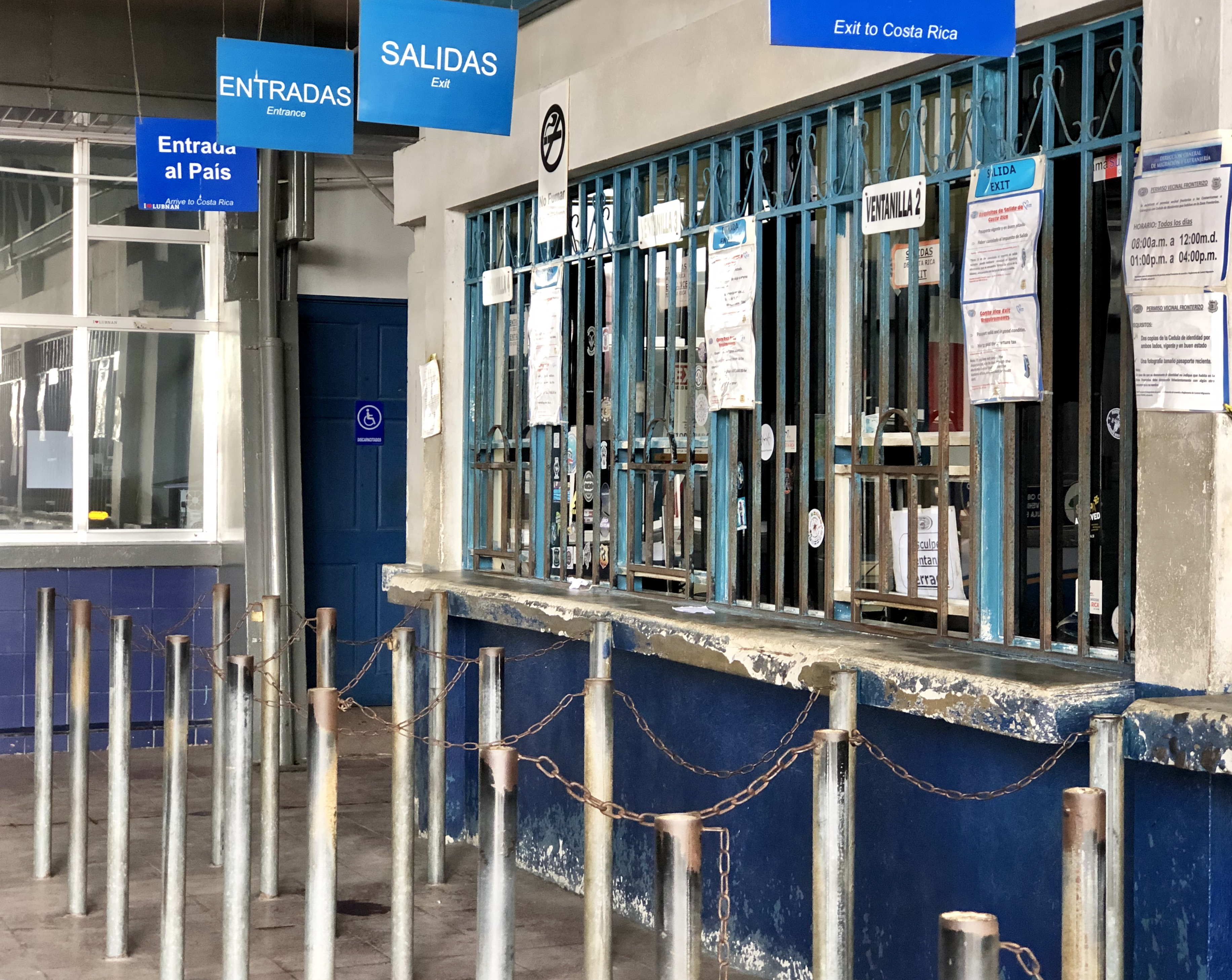 CR immigration window