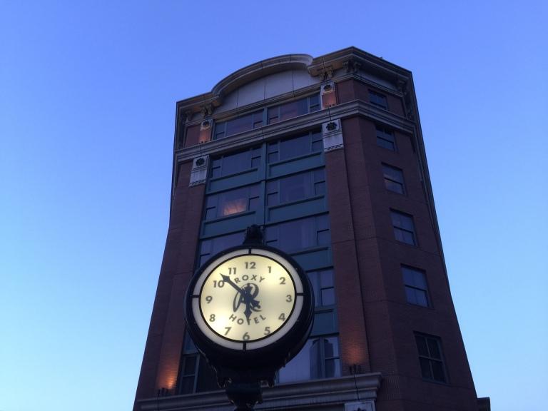 Roxy Hotel Clock - NYC 9