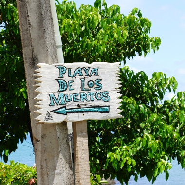 DSC02894 Sign Playa De Los Muertos